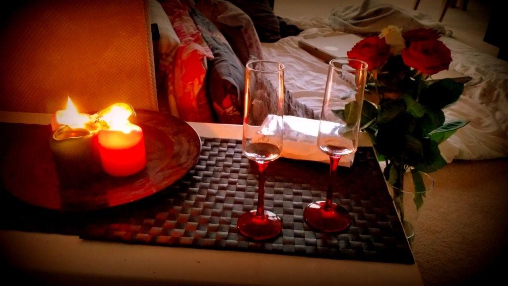 как вернуть бывшего романтический вечер
