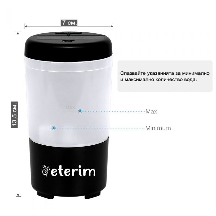 Дифузер за кола ETERIM mobile - USB дифузер за автомобил