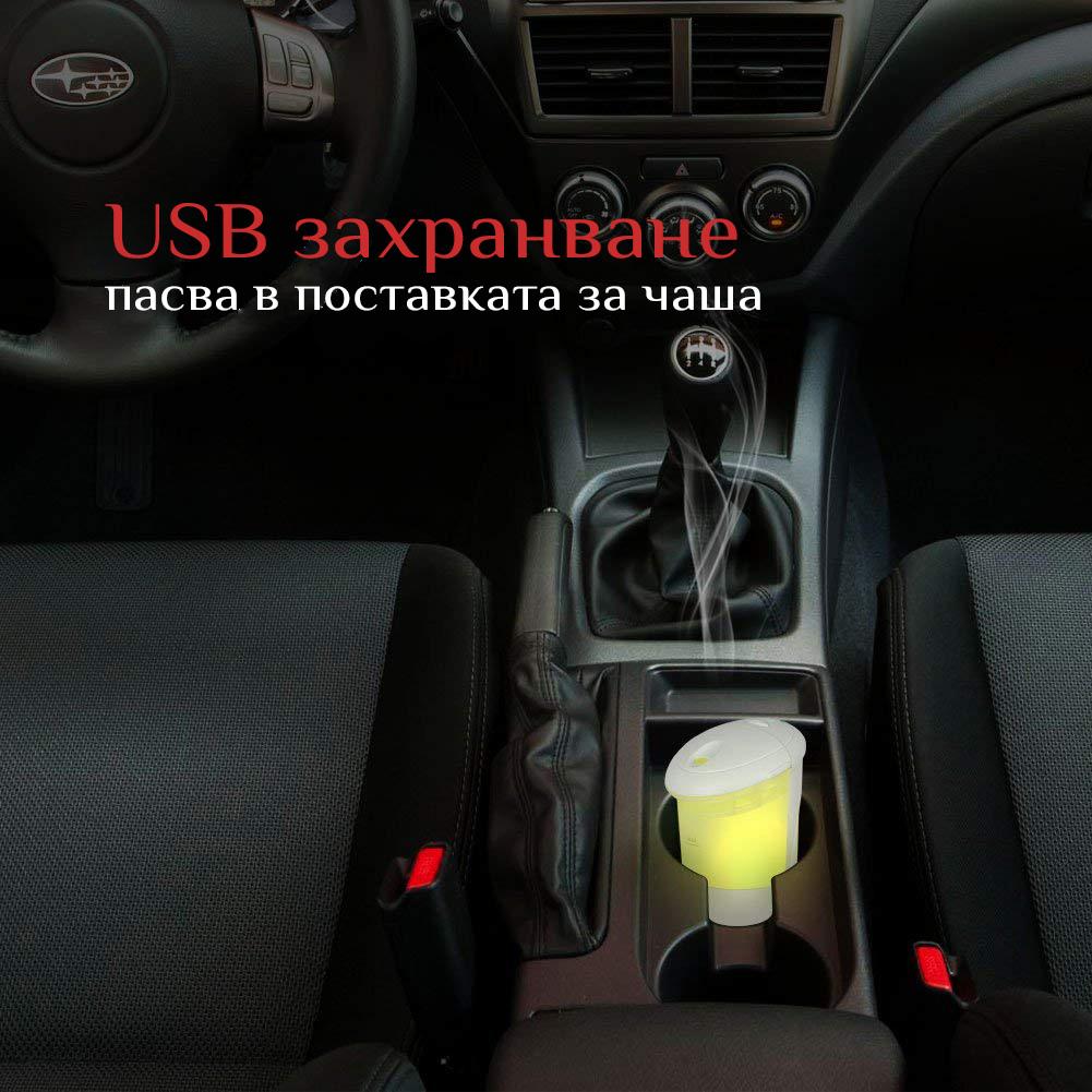 Дифузер с етерични масла за ароматерапия в автомобил или офис Eterim Mobile