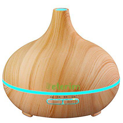 Дървен дифузер с етерични масла за домашна ароматерапия 300 мл.