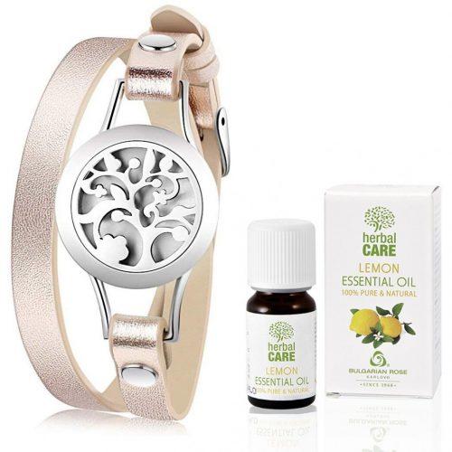 Гривна за ароматерапия ЕТЕРИМ с лимоново етерично масло