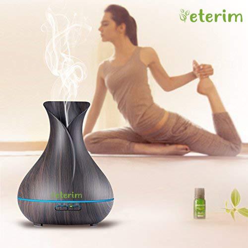 """Дифузер с етерични масла за ароматерапия Eterim """"Тъмна Ваза"""" 300 мл."""