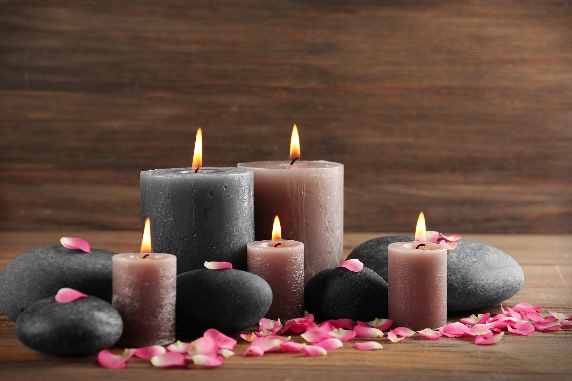 Ароматни свещи от соев восък етерим