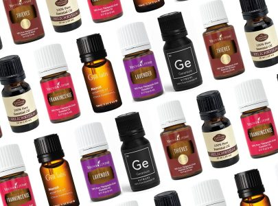 Смесване на етерични масла