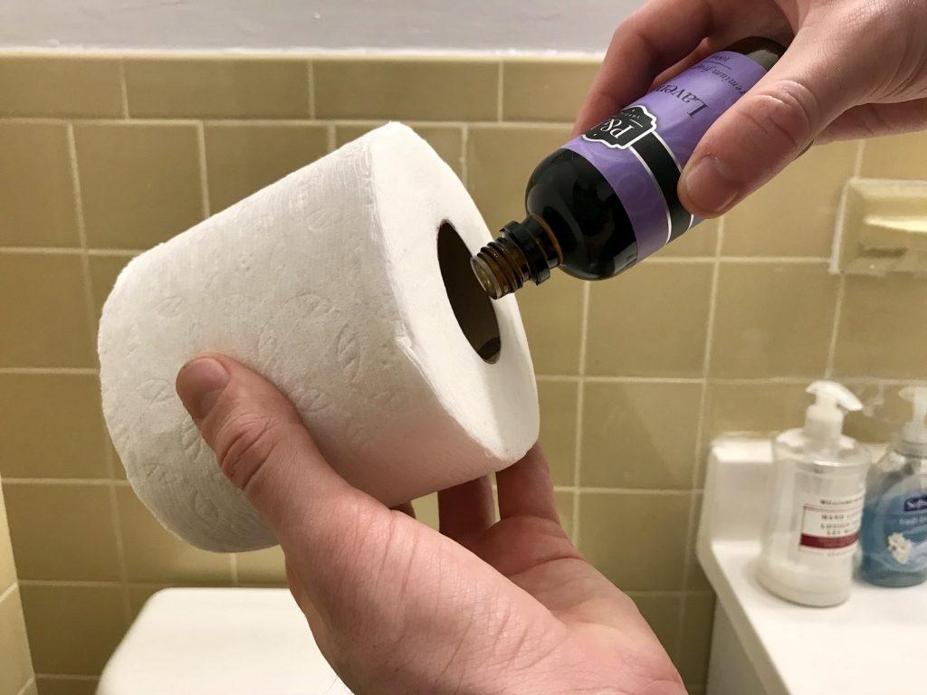 етерични масла в тоалетната