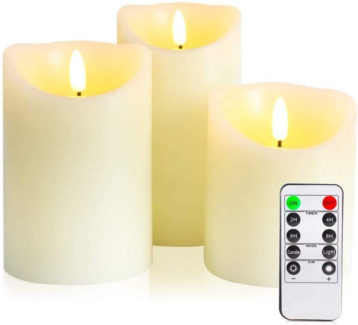 LED свещи без пламък ЕТЕРИМ
