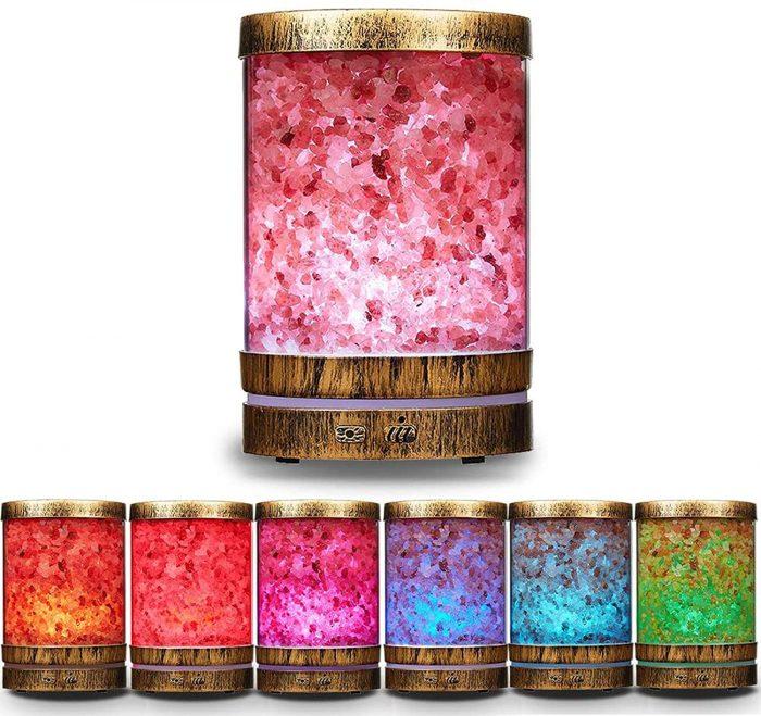 дифузер за етерични масла с хималайска сол ETERIM Salt