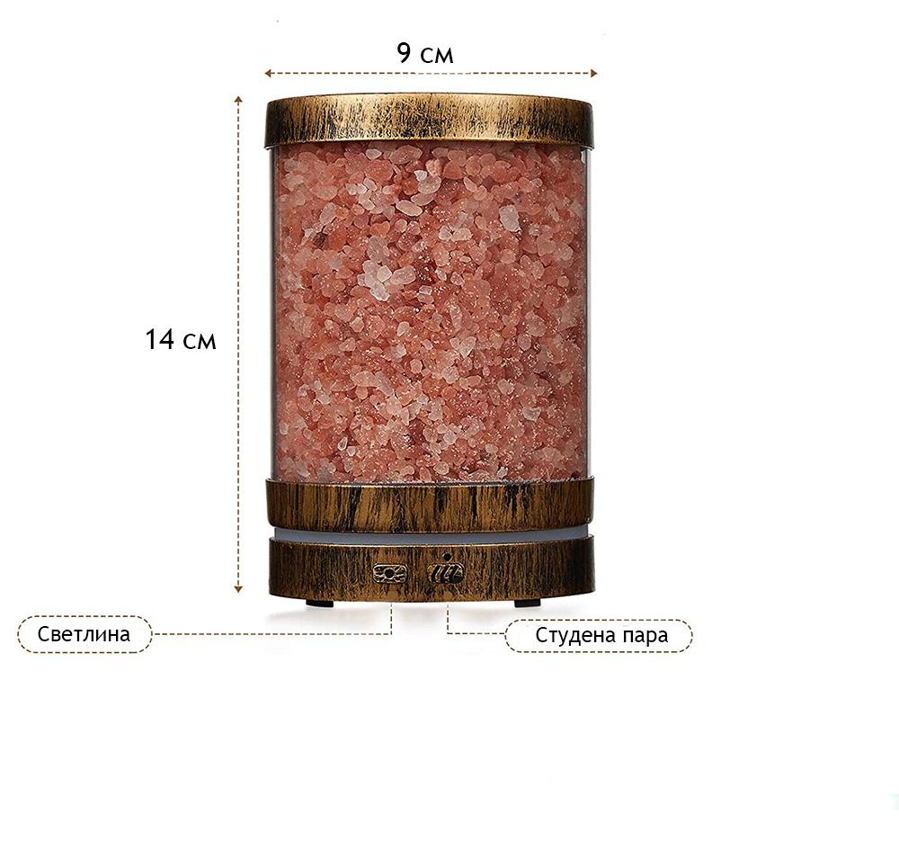 Дифузери с етерични масла и хималайска сол ETERIM Salt