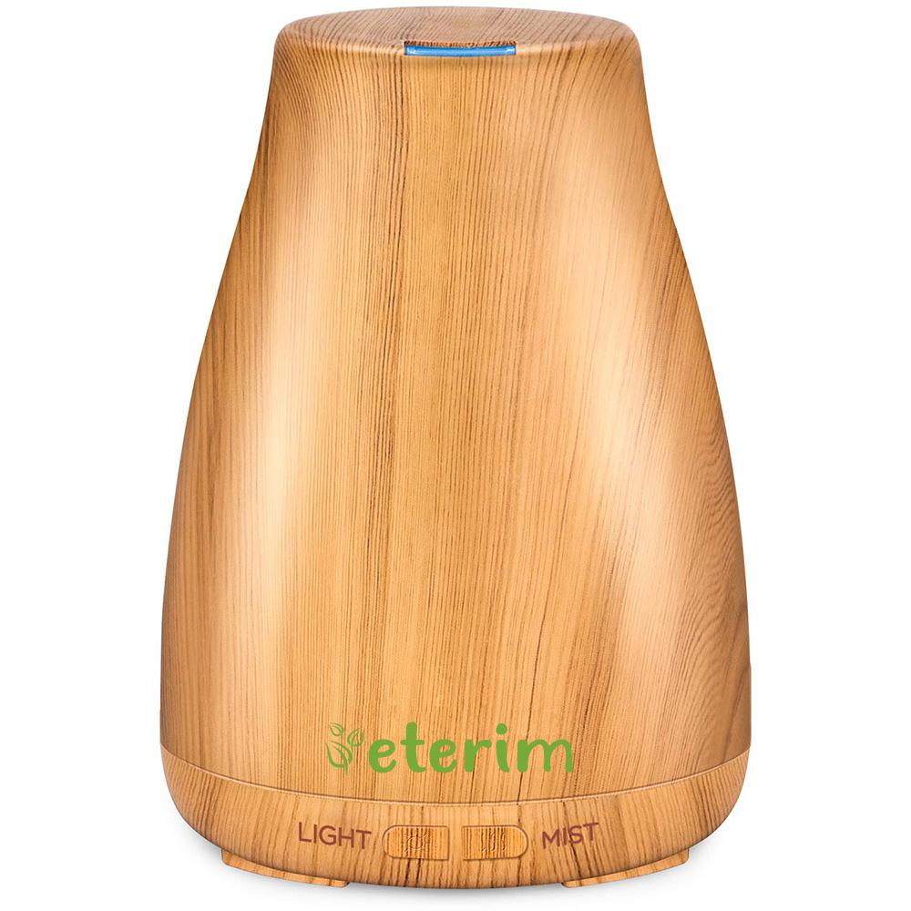 Дифузер за ароматерапия с етерични масла ETERIM 120 Светло дърво
