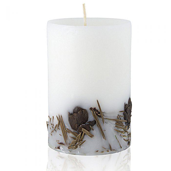 Ароматни свещи с етерични масла от Етерим Кедрово масло