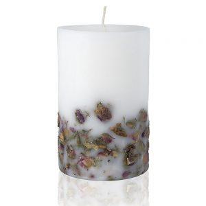 Ароматни свещи с етерично масло от роза ЕТЕРИМ