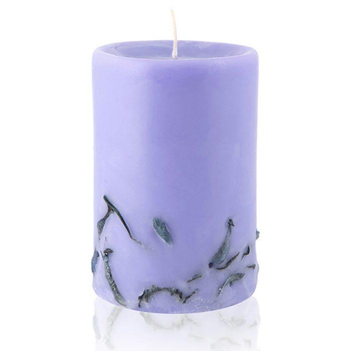 Ароматни свещи за ароматерапия с етерично масло от Лавандула