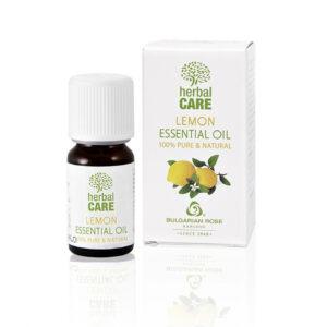Етерично масло против слънце с лимон