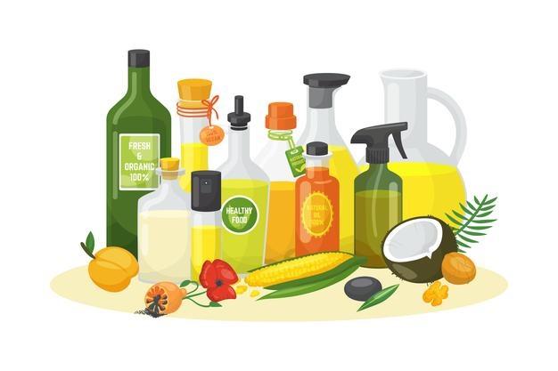 Различни видове базови масла