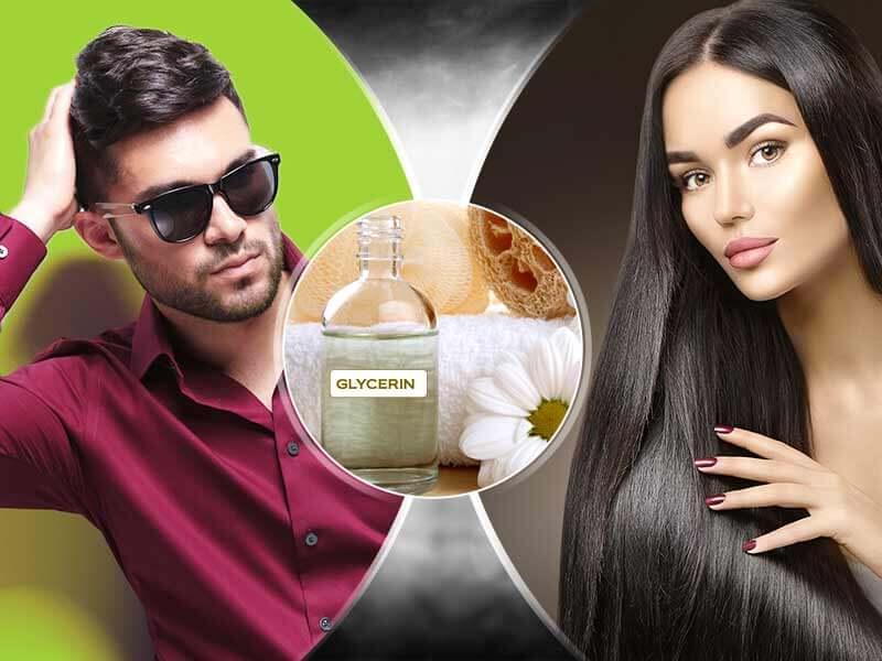 Как глицерина помага за нашата коса