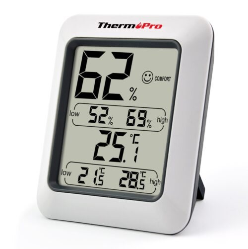 Влагомер (хигромер) и термометър за стая ЕТЕРИМ